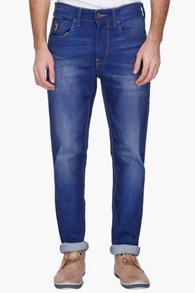 U.S. POLO ASSN. DENIMMens Slim Fit Mild Wash Jeans ( Delta Fit)