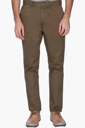 U.S. POLO ASSN. Mens Slim Fit Solid Casual Chinos - 201262008
