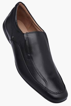 VENTURINI Mens Leather Slipon Smart Formal Shoes - 201777585