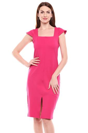 DISHA PATANI FOR GLAM LIFESTYLE -  Pink Dresses - Main