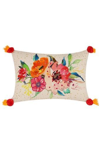 Embroidered Single Cushion Cover