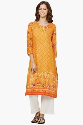 GLOBAL DESI Womens Printed Kurta - 202035747