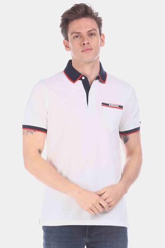 TOMMY HILFIGER -  WhiteT-Shirts & Polos - Main