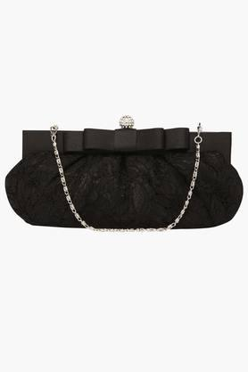 Womens Hook & Loop Closure Sling Clutch