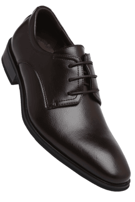 TRESMODE Mens Lace Up Leather Formal Shoe