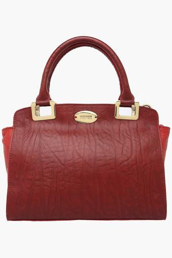 Womens Claudia Leather Tote Handbag