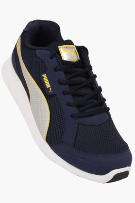 PUMA Mens Mesh Lace Up Sports Shoes  ... - 202304618