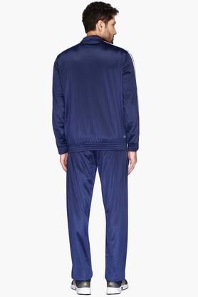 Mens Zip Through Neck Colour Block Jacket
