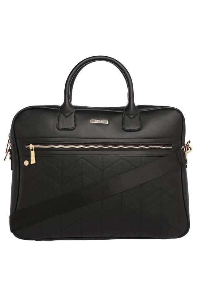 Womens 1 Compartment Zipper Closure Laptop Bag