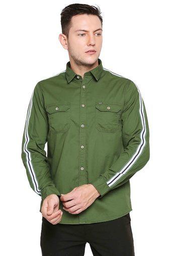 LEE COOPER -  GreenCasual Shirts - Main