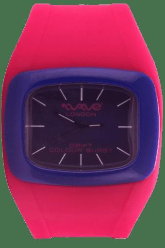 Drift Colour Burst Pink & Blue Unisex Watch