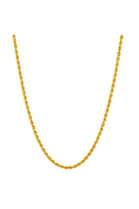 WHP JEWELLERS Mens Yellow Gold Chain GCHD16044461