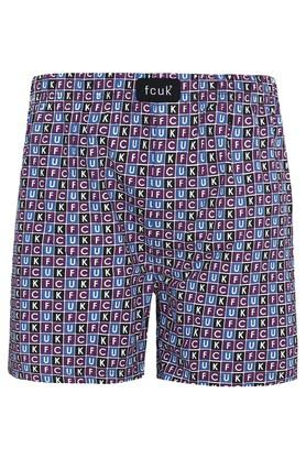 Mens Graphic Print Boxers