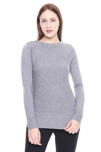 FEMINA FLAUNT -  CharcoalSweatshirts - Main