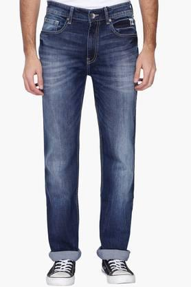 Exclusive Lines From Brands Jeans (Men's) - Mens 5 Pocket Heavy Wash Jeans