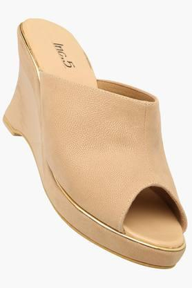 Womens Casual Slipon Wedge Sandal