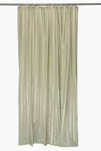Stripe Polyester Shower Curtain