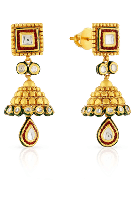 MALABAR GOLD AND DIAMONDS Womens Malabar Gold Earrings