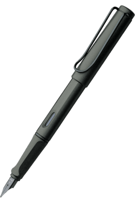 WILLIAM PENN Lamy Safari Matte Black Medium Fountain Pen