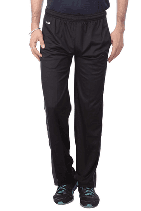 BLACK PANTHER Mens 2 Pocket Solid Track Pants - 200302243