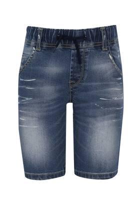 Boys 5 Pocket Mild Wash Shorts