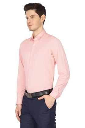 Mens Textured Formal Shirt