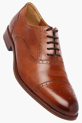RUOSHMens Leather Lace Up Oxford Shoes - 202639936