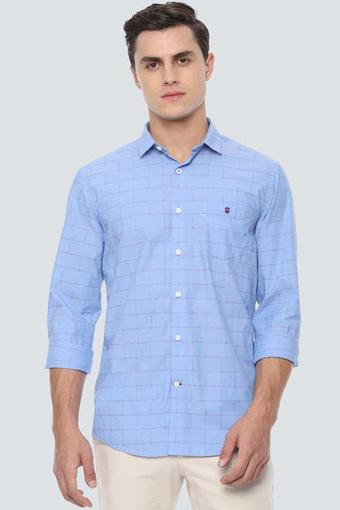 LOUIS PHILIPPE SPORTS -  Light BlueCasual Shirts - Main