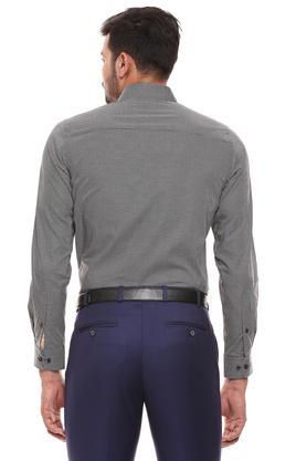 RAYMOND - Dark GreyFormal Shirts - 1