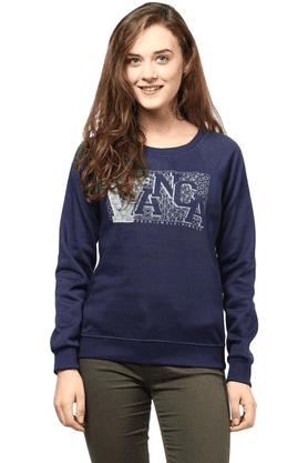 THE VANCAWomen Printed Sweatshirt