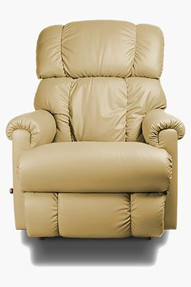 Camel Leather Recliner Sofa
