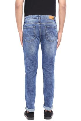 Mens Slim Fit Stone Wash Jeans (Rover Fit)