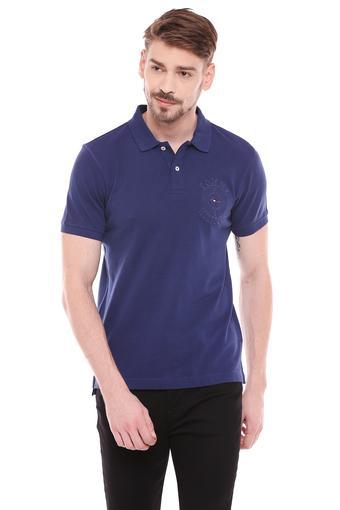 TOMMY HILFIGER -  BlueT-Shirts & Polos - Main