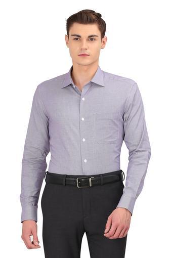 LOUIS PHILIPPE -  PurpleShirts - Main