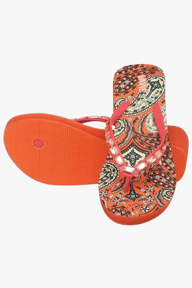 Womens Casual Slipon Wedge Chappal