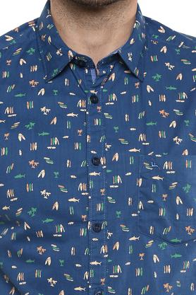 PARX - BlueCasual Shirts - 4