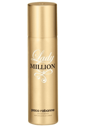 PACO RABANNE Paco Rabanne Lady Million Deo Vaporisateur Spray 150Ml