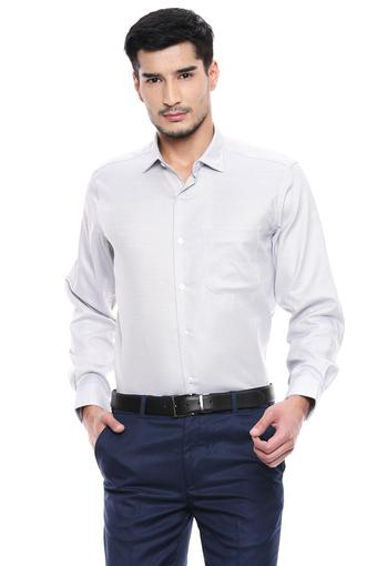 LOUIS PHILIPPE -  Light GreyShirts - Main