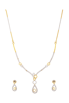 TUANstunning Necklace Set For Women (INK-770) (Use Code FB20 To Get 20% Off On Purchase Of Rs.1800)