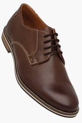 VENTURINI Mens Leather Lace Up Formal Derbys  ...