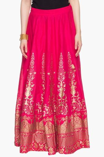 86a7cb036 Buy BIBA Womens Printed Flared Long Skirt | Shoppers Stop