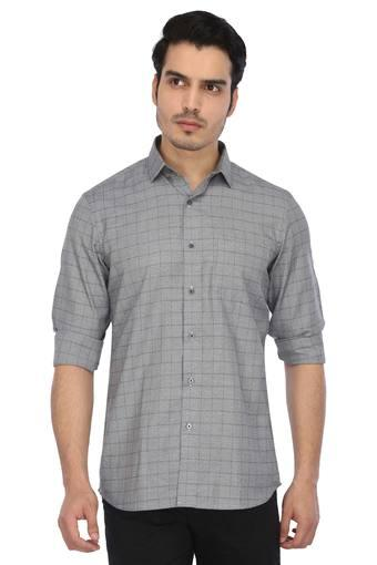 ARROW NYC -  Grey Melange Shirts - Main