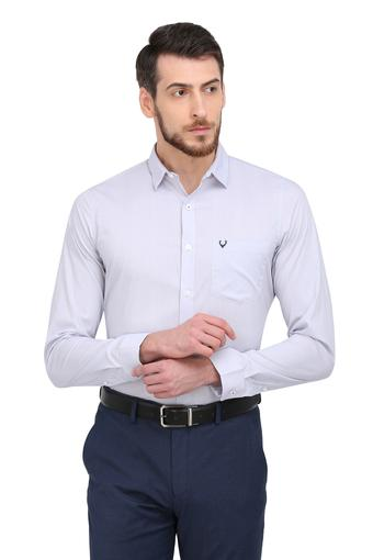 ALLEN SOLLY -  Light GreyShirts - Main