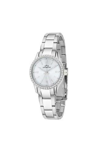 Womens Silver Dial Metallic Analogue Watch - R3753241509