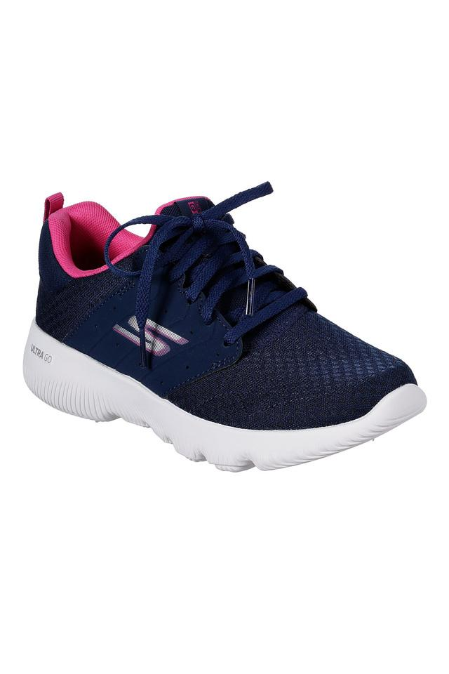 SKECHERS - Navy Sports Shoes & Sneakers - Main