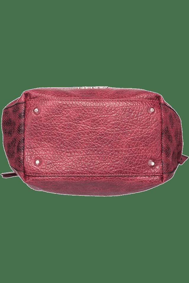Womens PU Satchel Handbag