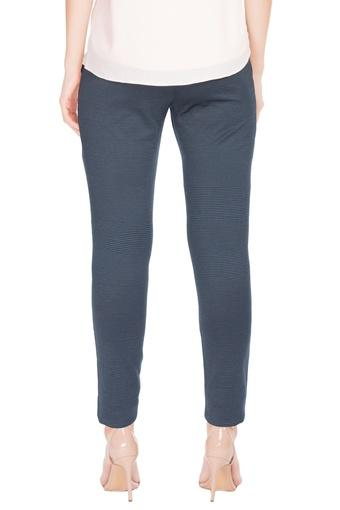 ALLEN SOLLY -  NavyTrousers & Pants - Main