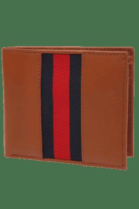 TOMMY HILFIGERMens Tan Versiox Leather Wallet