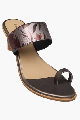Womens Casual Slip On Heels