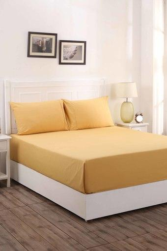 MASPAR -  GoldDouble Bed Sheets - Main
